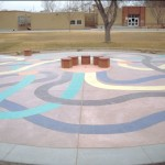 Bomanite Con-Color Playground