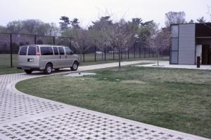 Grasscrete Access Road Dr. Martin Luther King Jr. Memorial