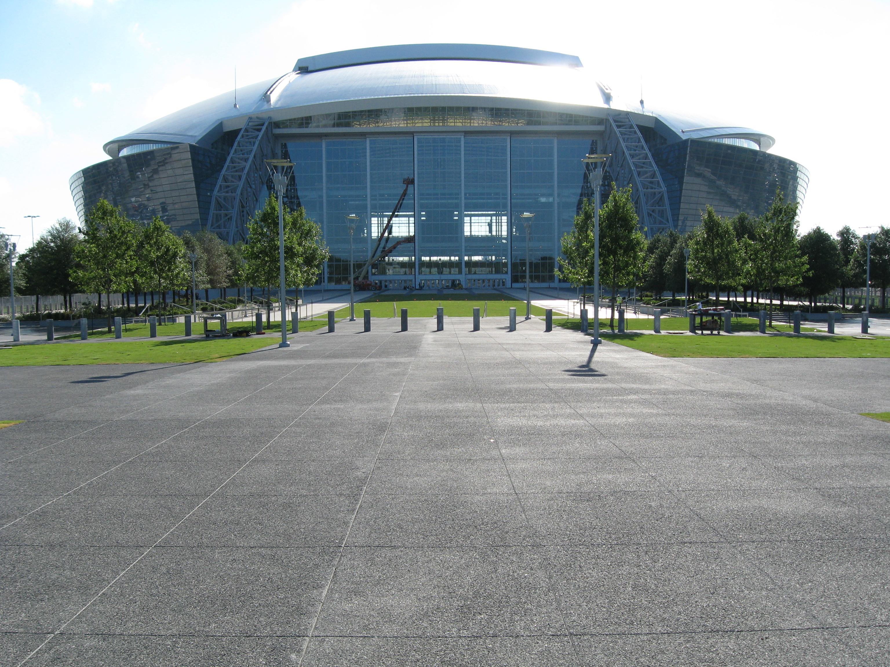Dallas Cowboys Stadium Bomanite