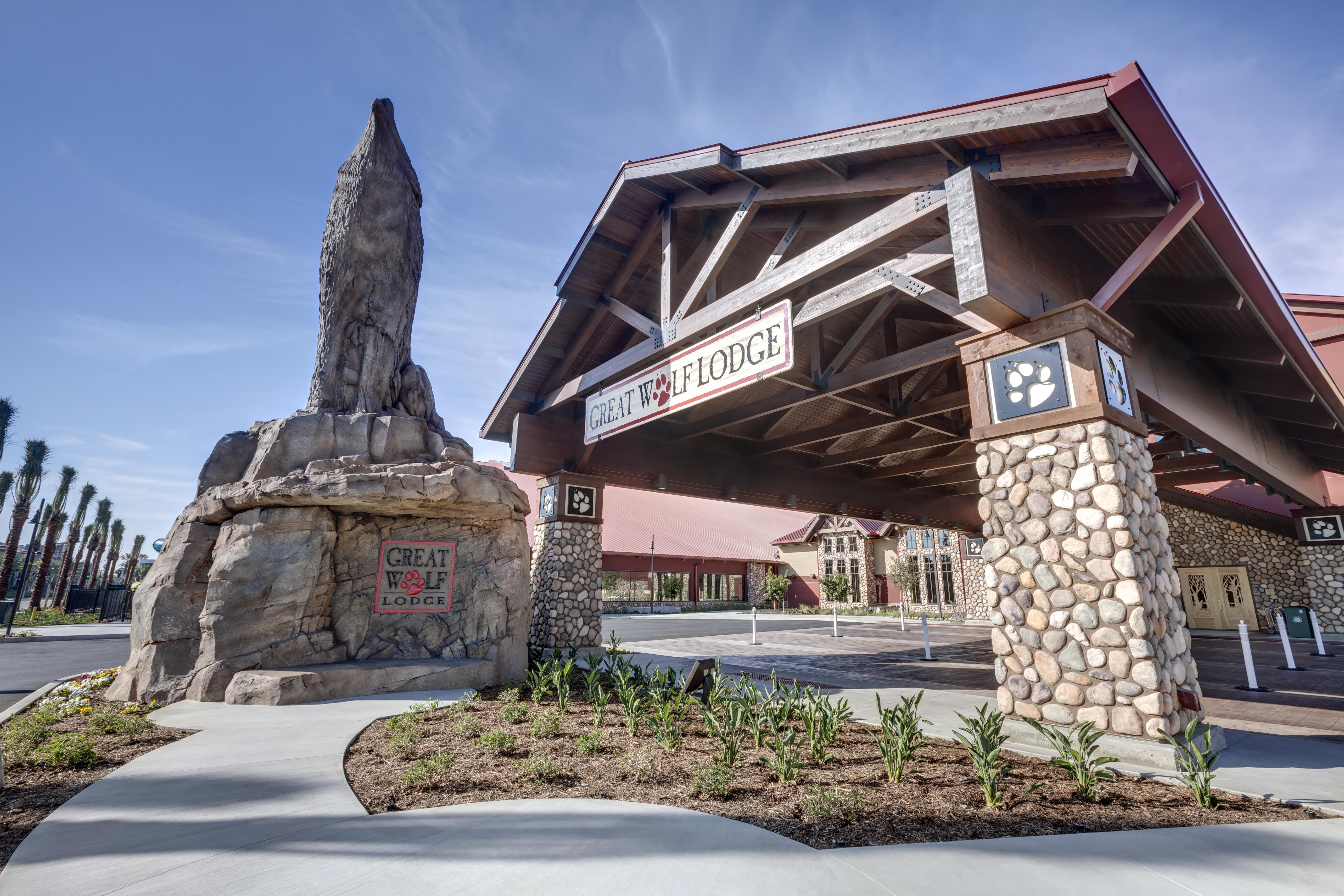 Great Wolf Lodge Resort Bomanite