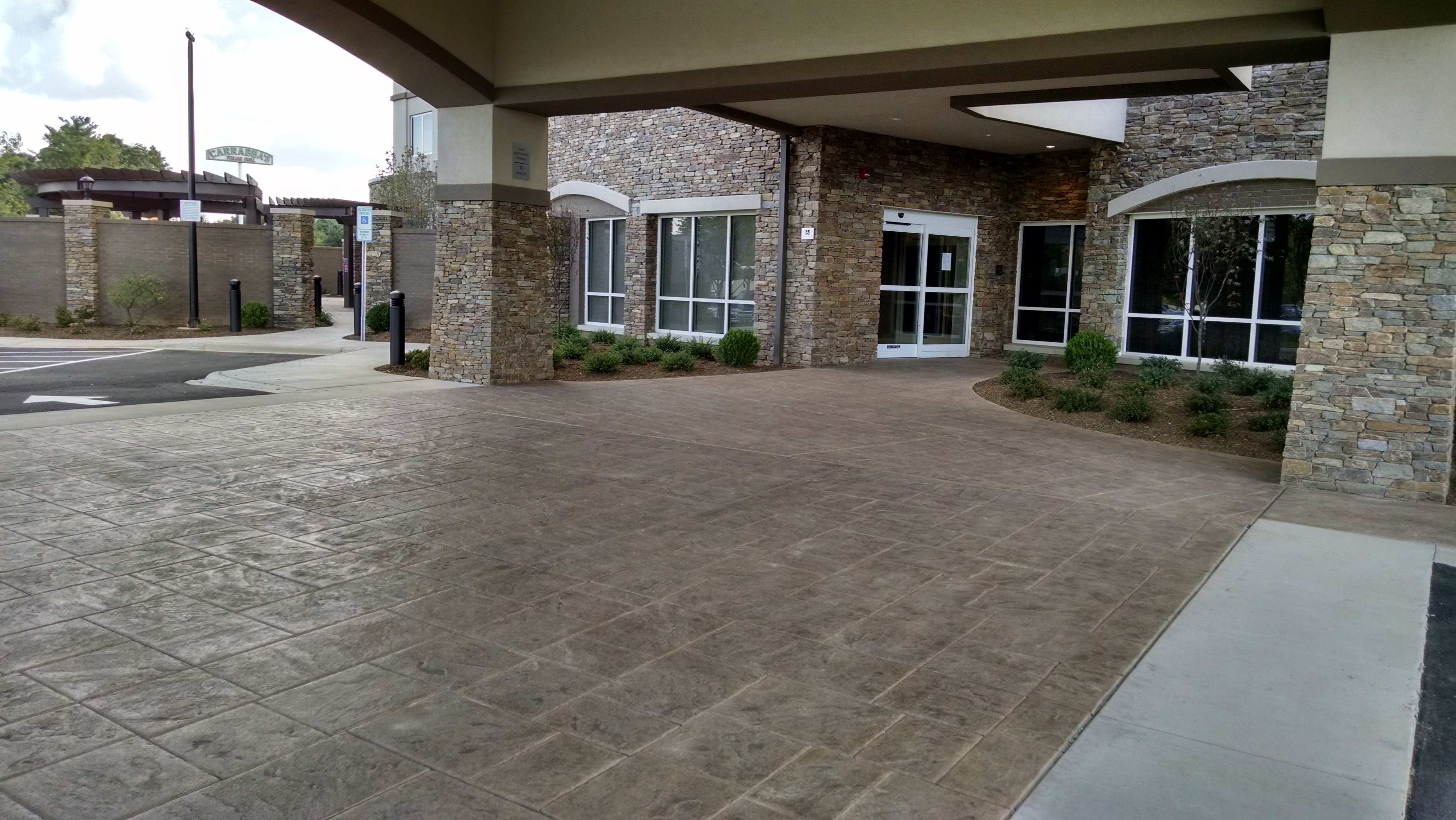 Stamped Concrete Showroom : Bomanite showroom