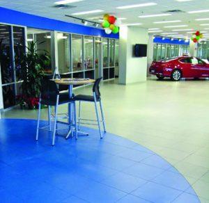 First Texas Honda Installs Bomanite Systems