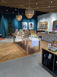 Nickel and Suede installed a Bomanite Custom Polished Concrete Modena SL Flooring System in their new retail flagship store located in liberty, Mo with the help of Bomanite Licensee Musselman and Hall.