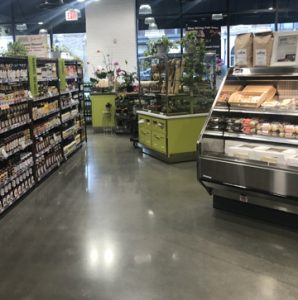 Brothers Marketplace is a family-owned business that has expanded into local communities bringing an innovative approach to food with unique offerings and showcasing a newly finished sustainable floor, Bomanite VitraFlor Polished Concrete, installed by Premier Concrete Construction in Waltham, Ma that complies with Brothers Marketplace overall quality of standards.